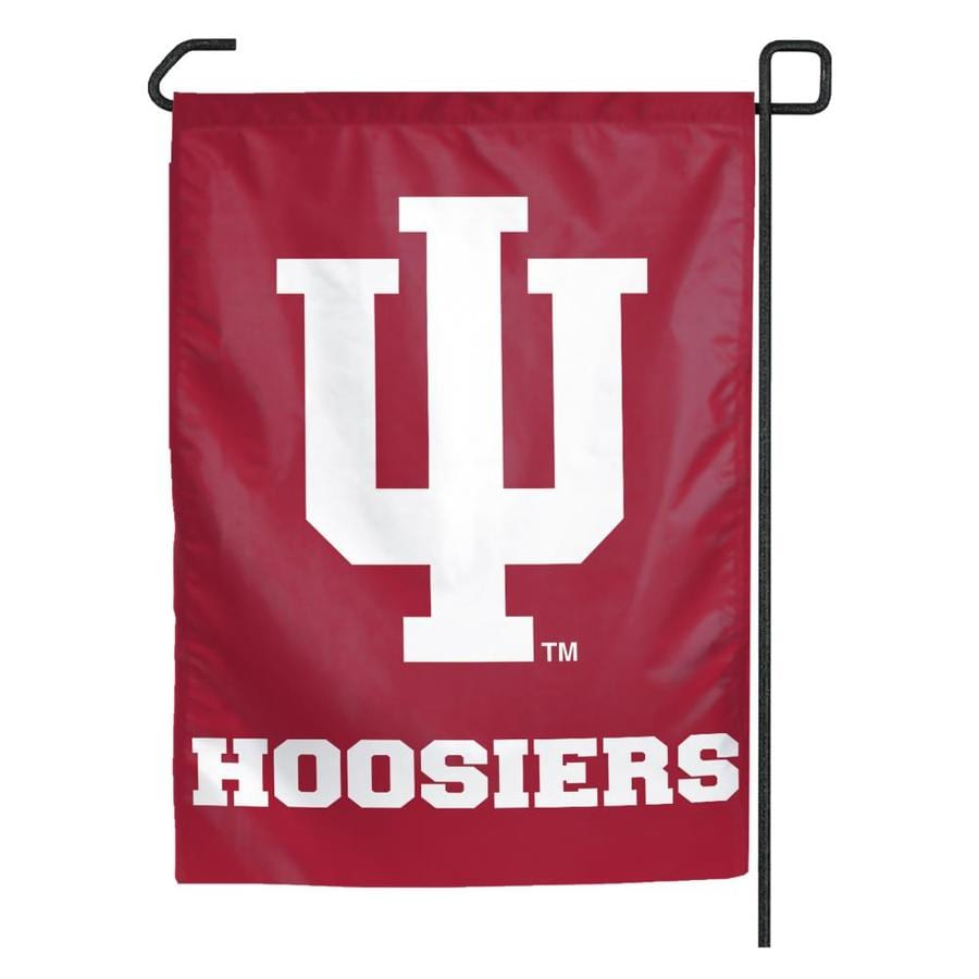 WinCraft Sports 1.25-ft W x 2.75-ft H Indiana University Flag