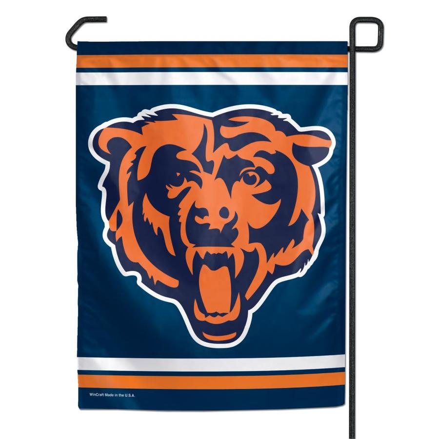 WinCraft Sports 1-ft W x 1.5-ft H Chicago Bears Garden Flag
