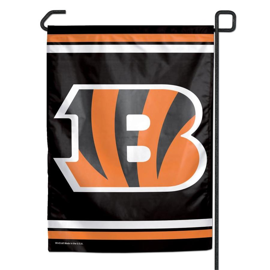 WinCraft Sports 1-ft W x 1.5-ft H Cincinnati Bengals Garden Flag