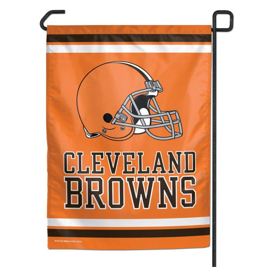 WinCraft Sports 1-ft W x 1.5-ft H Cleveland Browns Garden Flag