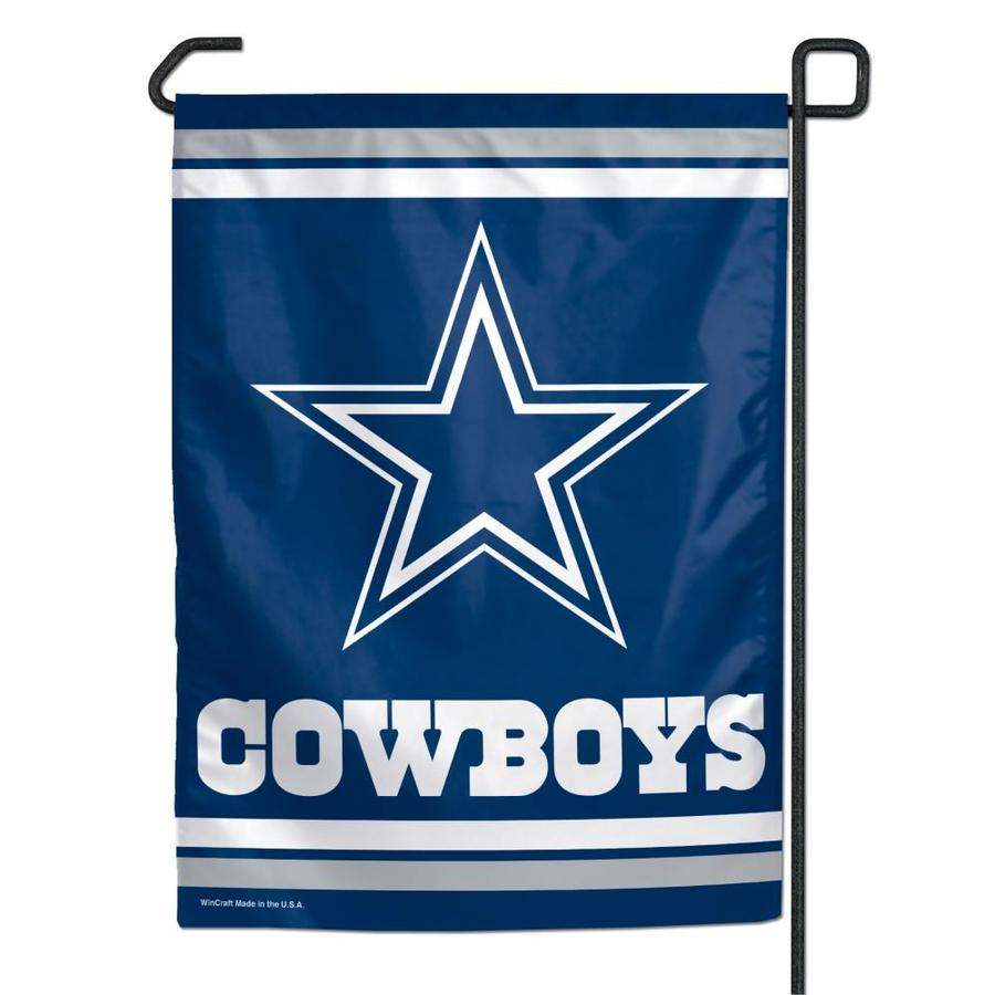 WinCraft Sports 1-ft W x 1.5-ft H Dallas Cowboys Garden Flag