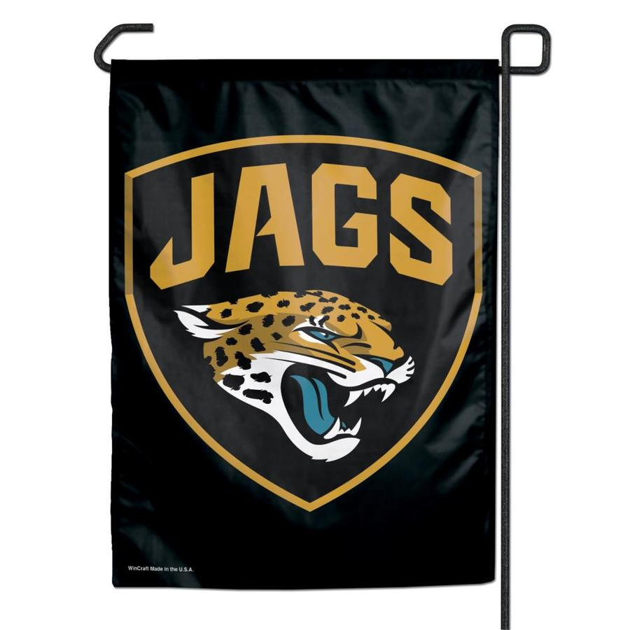 WinCraft Sports 1-ft W x 1.5-ft H Jacksonville Jaguars Garden Flag