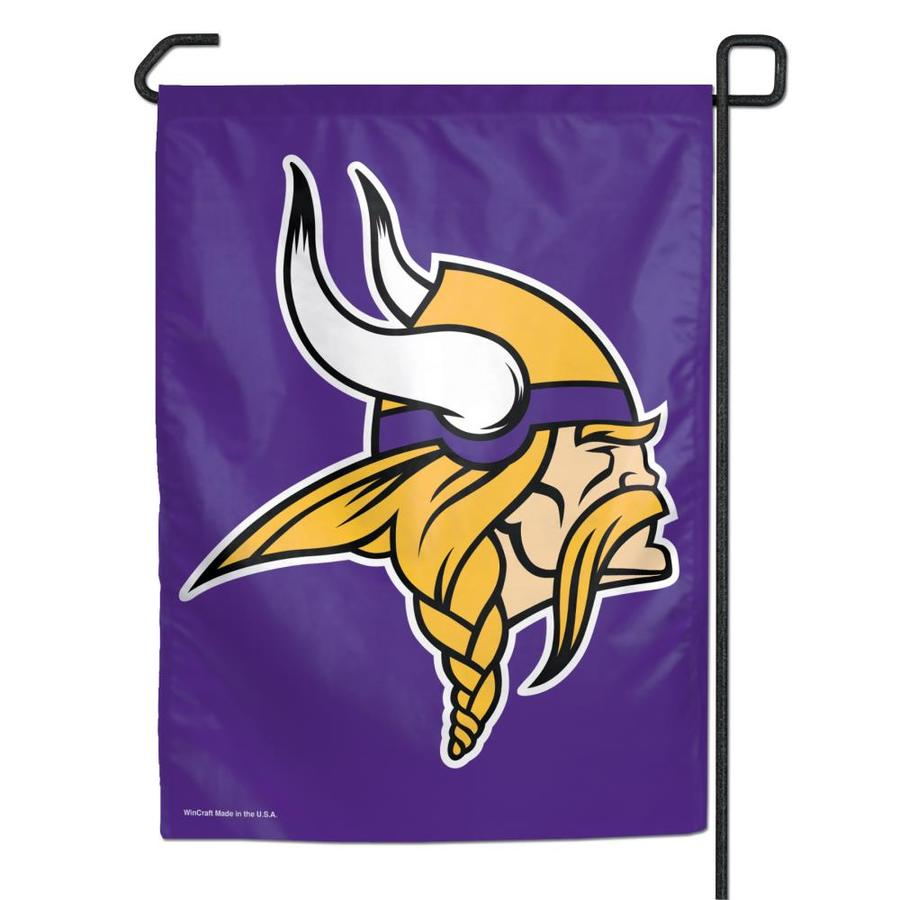 WinCraft Sports 1-ft W x 1.5-ft H Minnesota State Vikings Garden Flag