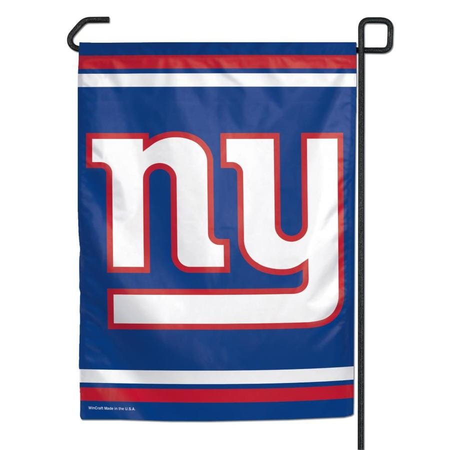 WinCraft Sports 1-ft W x 1.5-ft H New York State Giants Garden Flag