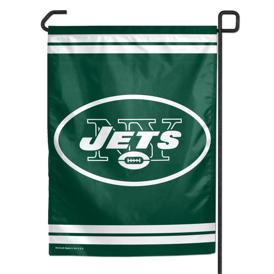 WinCraft Sports 1-ft W x 1.5-ft H New York State Jets Garden Flag