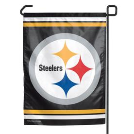 3c5eb515de2 WinCraft Sports 1-ft W x 1.5-ft H Pittsburgh Steelers Garden Flag