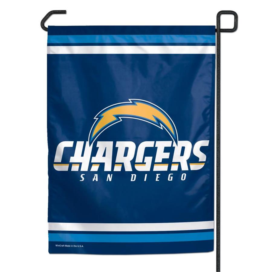 WinCraft Sports 1-ft W x 1.5-ft H San Diego Chargers Garden Flag