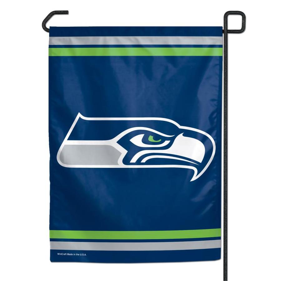 WinCraft Sports 1-ft W x 1.5-ft H Seattle Seahawks Garden Flag