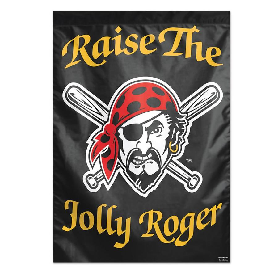 WinCraft Sports 2.33-ft W x 3.33-ft H Pittsburgh Pirates Flag