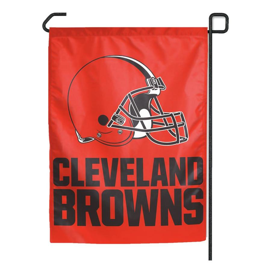 WinCraft Sports 1.25-ft W x 2.75-ft H Cleveland Browns Flag