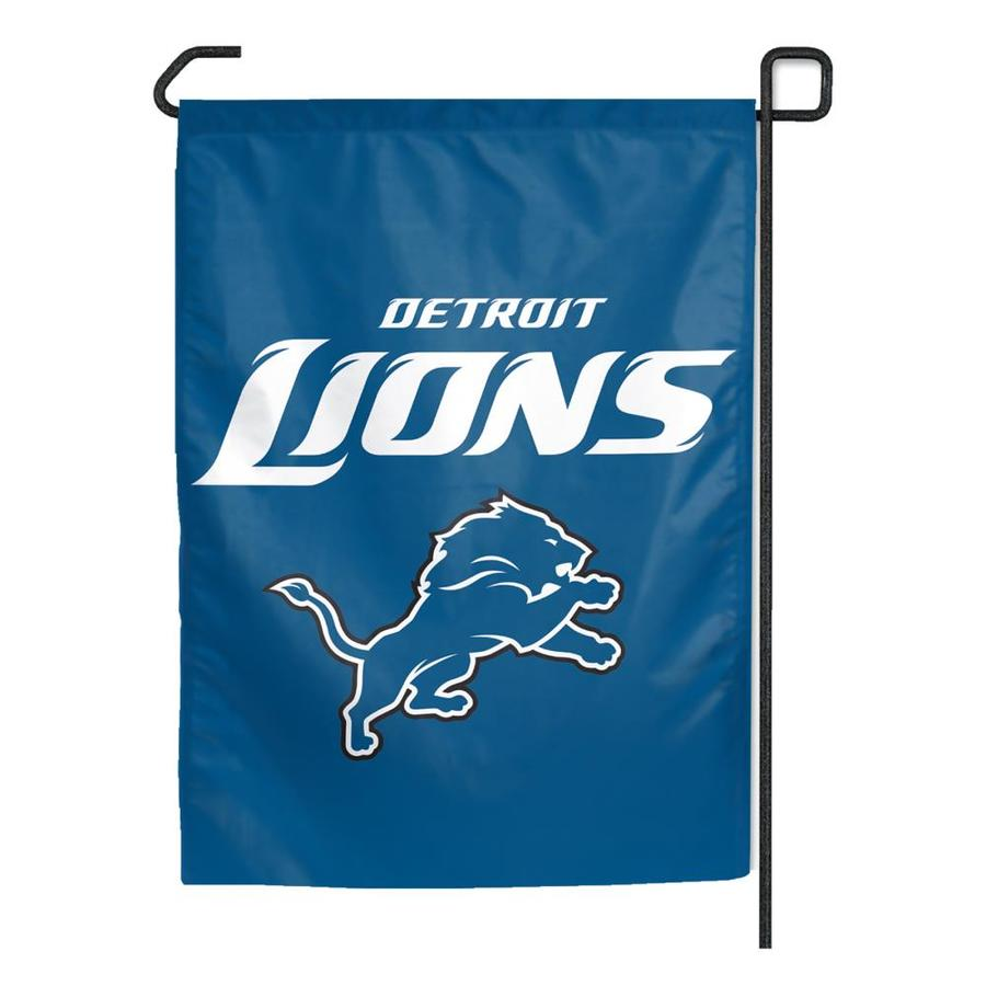 WinCraft Sports 1.25-ft W x 2.75-ft H Detroit Lions Flag