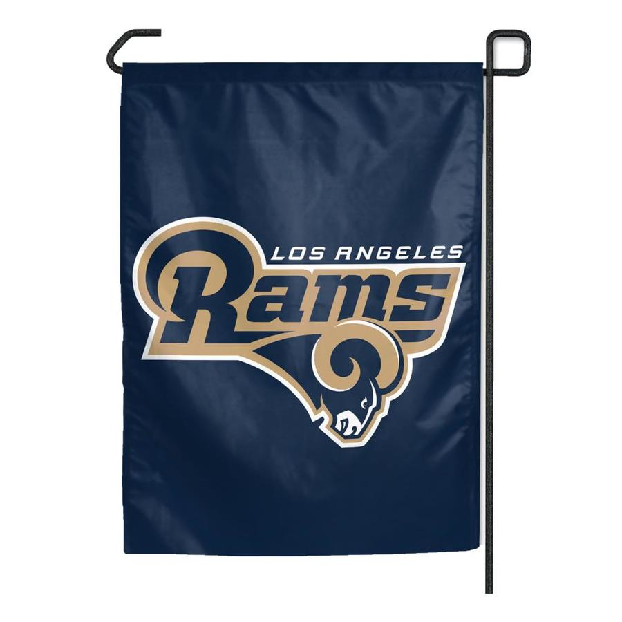 WinCraft Sports 1.25-ft W x 2.75-ft H Los Angeles Rams Flag