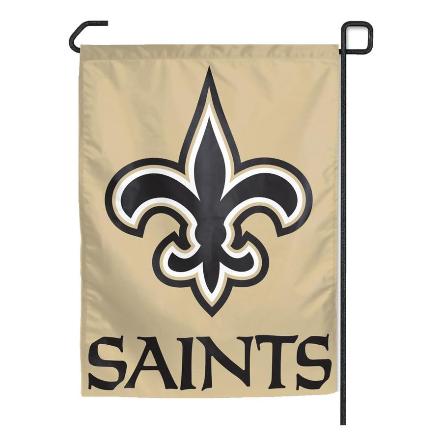WinCraft Sports 1.25-ft W x 2.75-ft H New Orleans Saints Flag