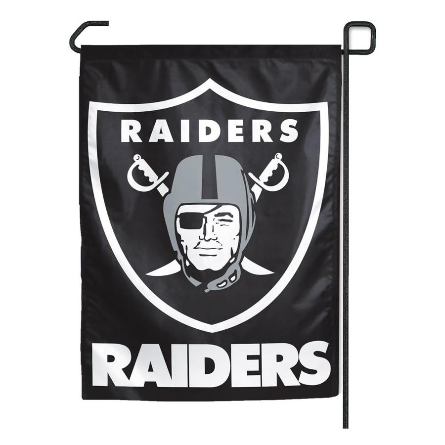WinCraft Sports 1.25-ft W x 2.75-ft H Oakland Raiders Flag