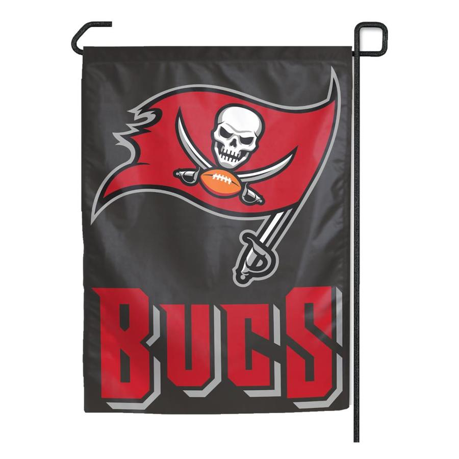 WinCraft Sports 1.25-ft W x 2.75-ft H Tampa Bay Buccaneers Flag