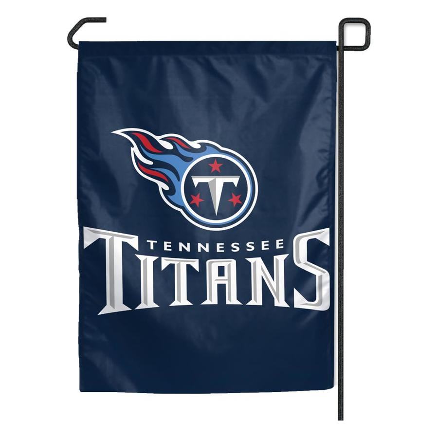 WinCraft Sports 1.25-ft W x 2.75-ft H Tennessee Titans Flag