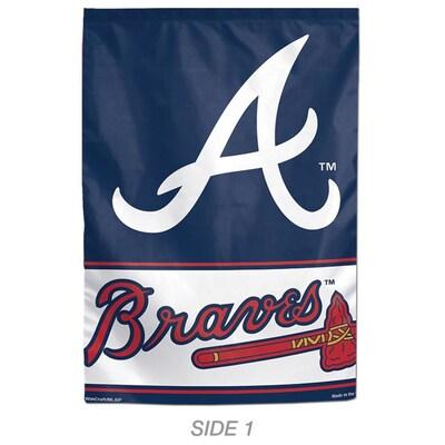 watch 318a5 822fc WinCraft Sports 1-ft W x 1.5-ft H Atlanta Braves Garden Flag ...