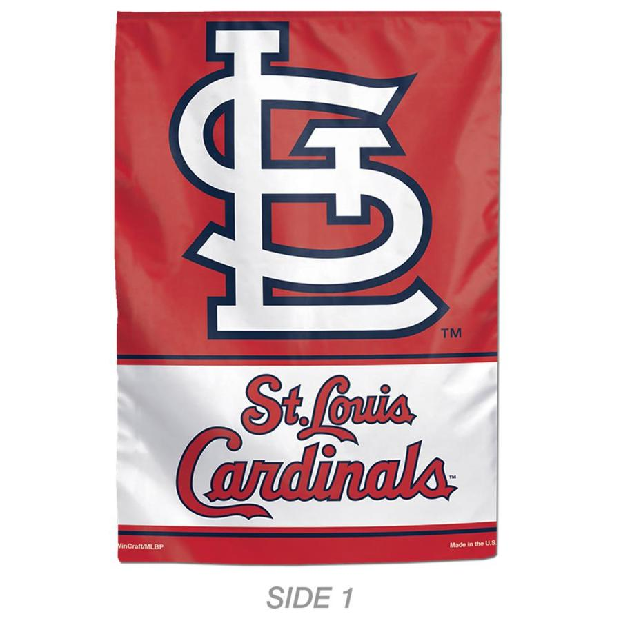WinCraft Sports 1-ft W x 1.5-ft H Sports St Louis Cardinals Garden Flag