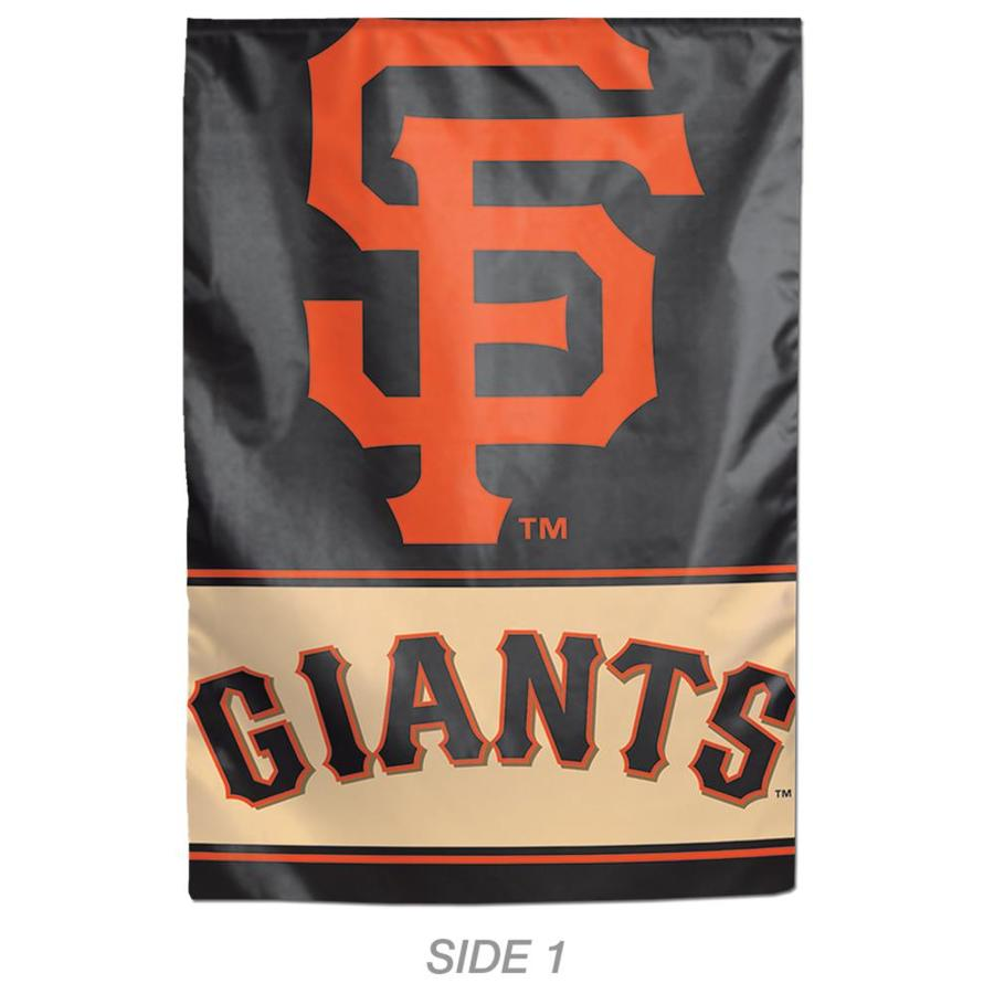 WinCraft Sports 1-ft W x 1.5-ft H Sports San Francisco Giants Garden Flag