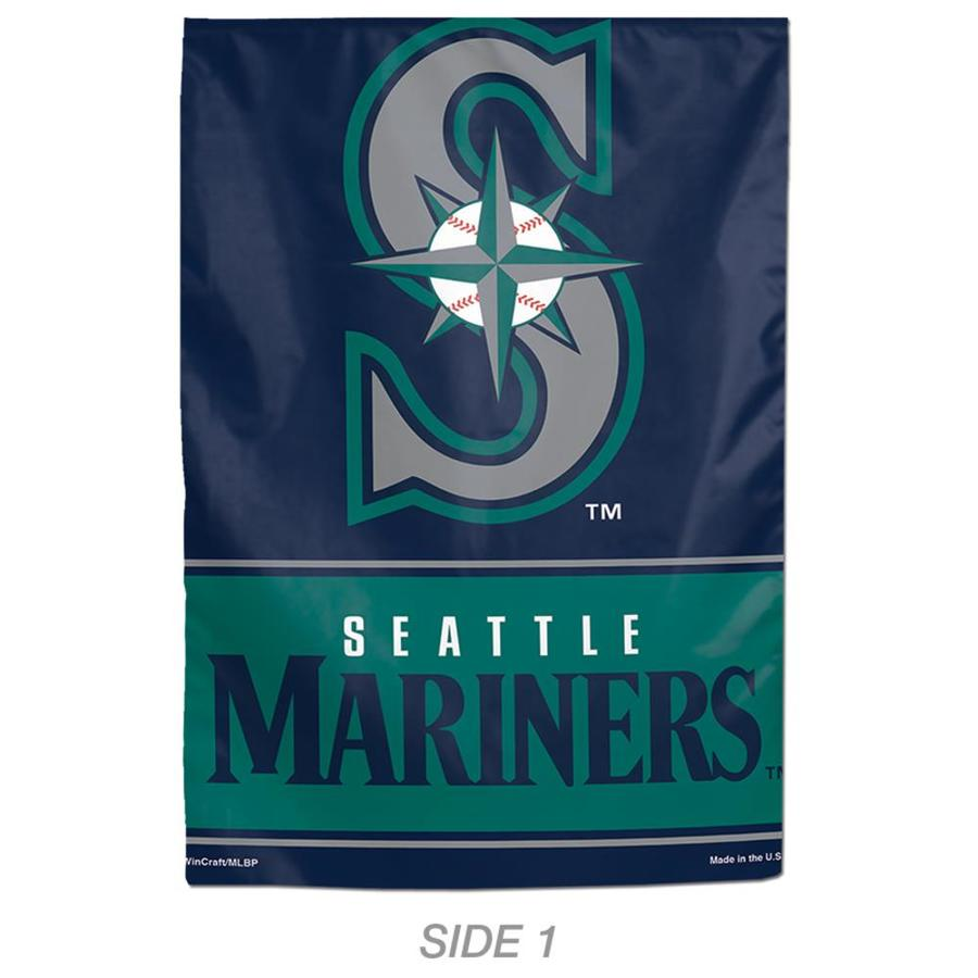 WinCraft Sports 1-ft W x 1.5-ft H Sports Seattle Mariners Garden Flag