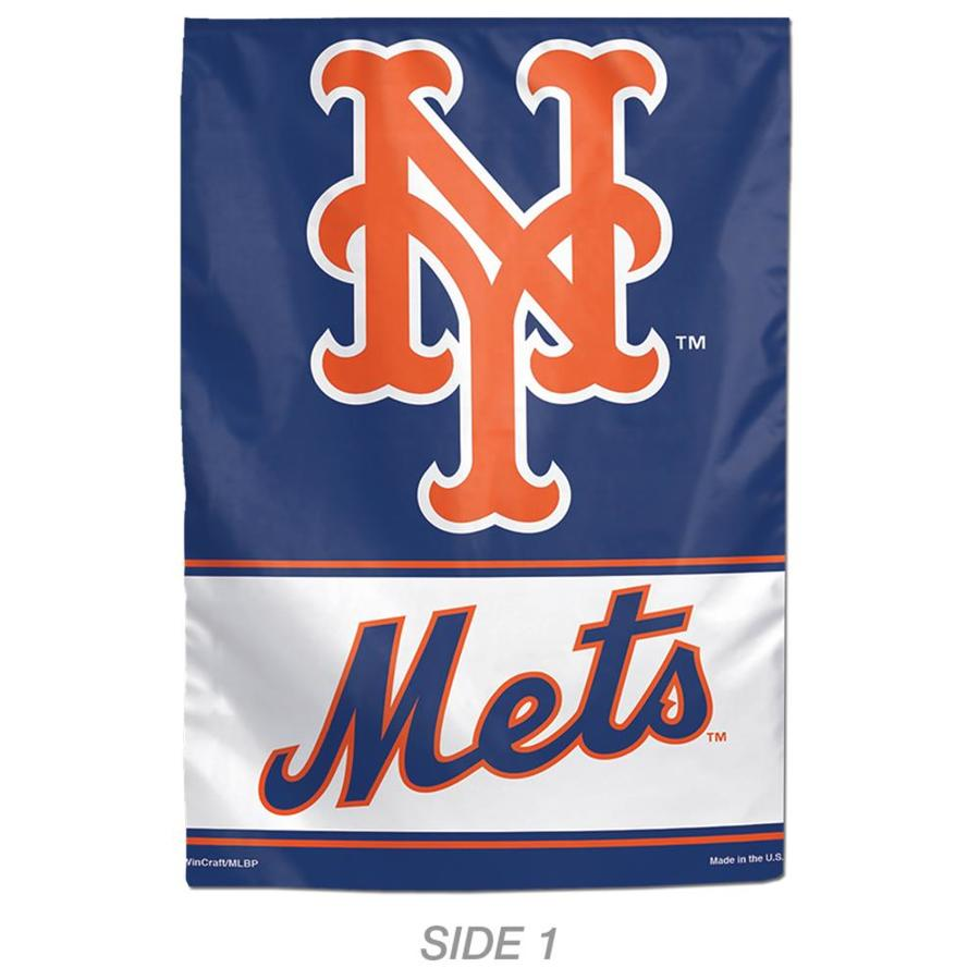 WinCraft Sports 1-ft W x 1.5-ft H Sports New York Mets Garden Flag