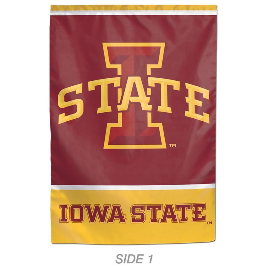 WinCraft Sports 1-ft W x 1.5-ft H Sports Iowa State University Garden Flag