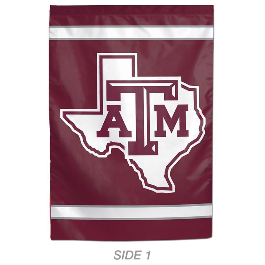 WinCraft Sports 1-ft W x 1.5-ft H Sports Texas A&M University Garden Flag