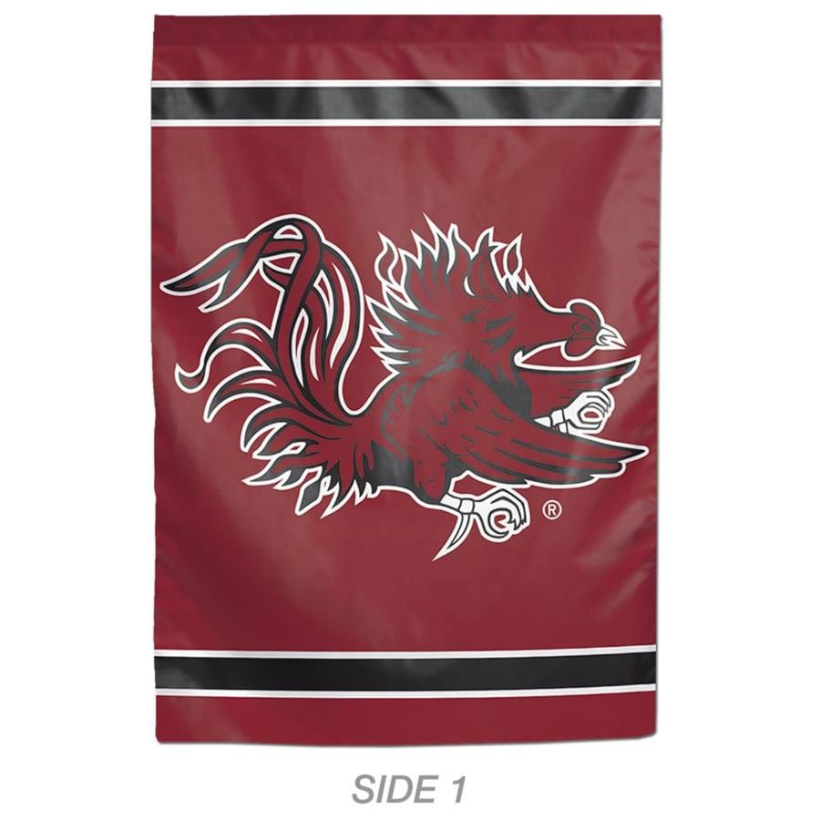 WinCraft Sports 1-ft W x 1.5-ft H Sports University Of South Carolina Garden Flag