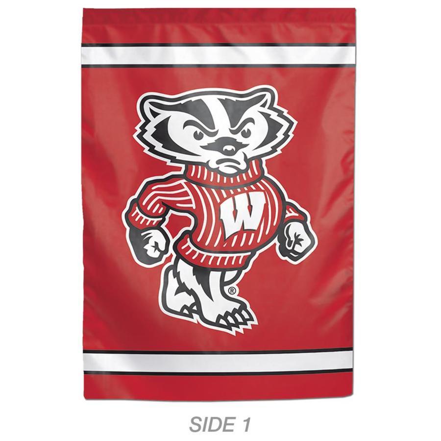 WinCraft Sports 1-ft W x 1.5-ft H Sports University Of Wisconsin Garden Flag