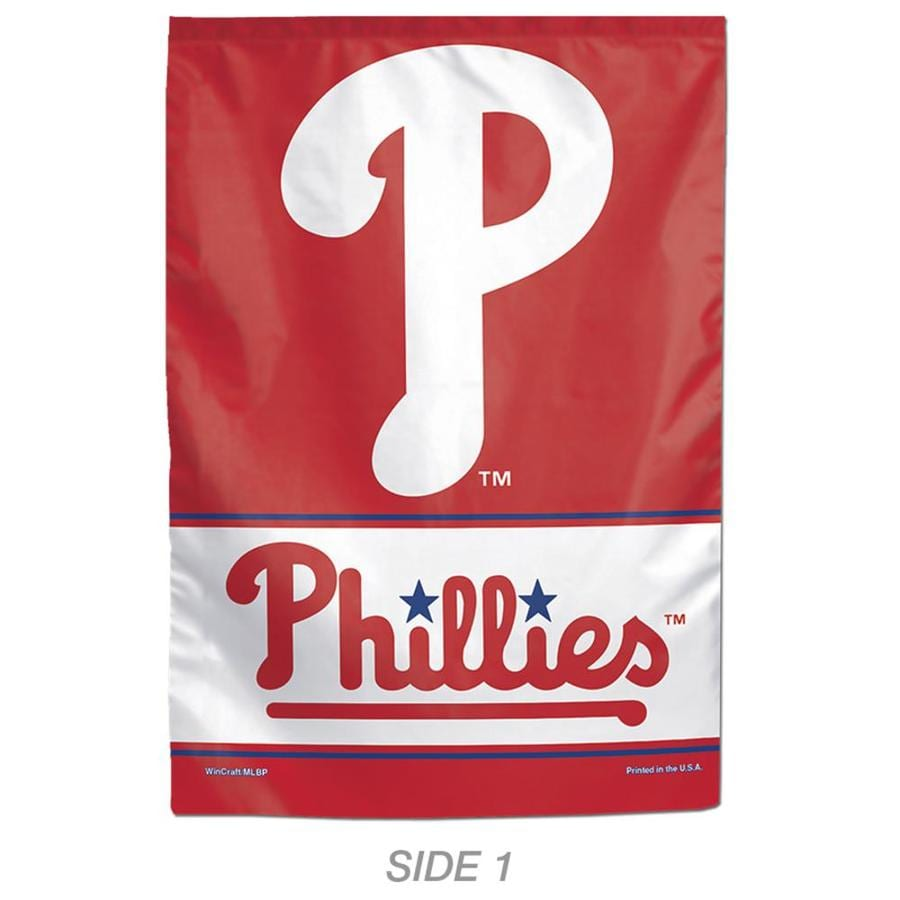 WinCraft Sports 1-ft W x 1.5-ft H Sports Philadelphia Phillies Garden Flag