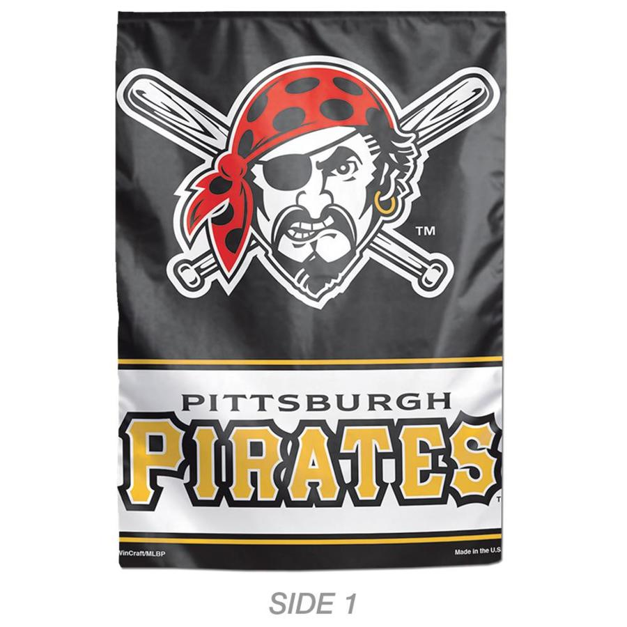 WinCraft Sports 1-ft W x 1.5-ft H Sports Pittsburgh Pirates Garden Flag