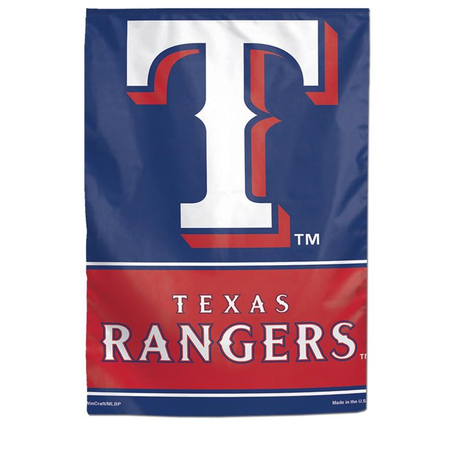 WinCraft Sports 1-ft W x 1.5-ft H  Texas State Rangers Garden Flag