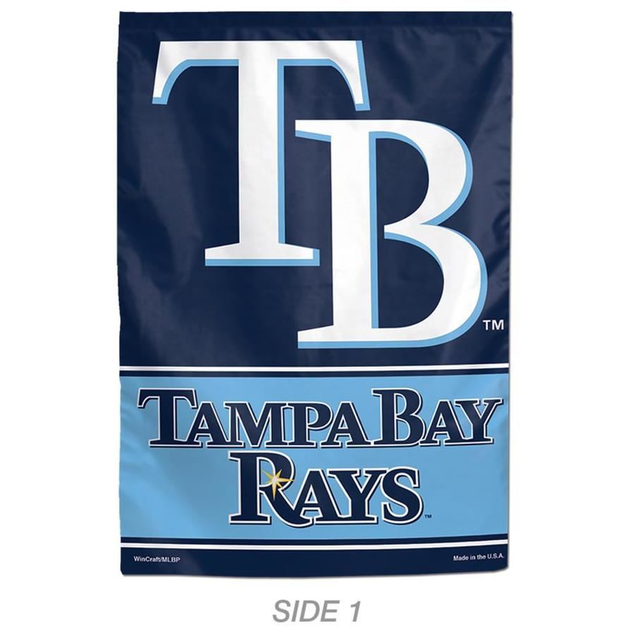 WinCraft Sports 1-ft W x 1.5-ft H Sports Tampa Bay Rays Garden Flag