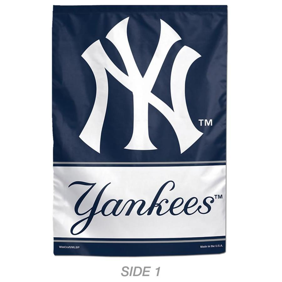 WinCraft Sports 1-ft W x 1.5-ft H Sports New York Yankees Garden Flag