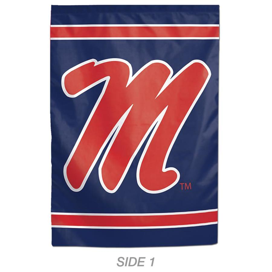WinCraft Sports 1-ft W x 1.5-ft H Sports University Of Mississippi Garden Flag