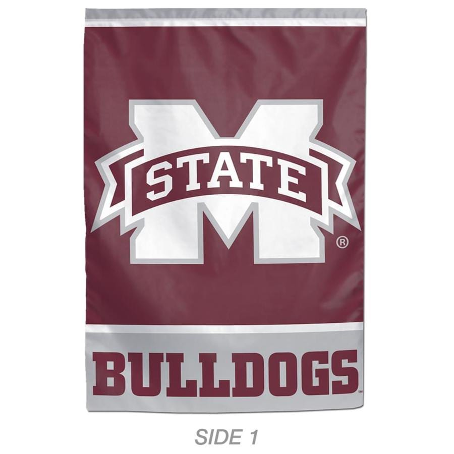 WinCraft Sports 1-ft W x 1.5-ft H Sports Mississippi State University Garden Flag