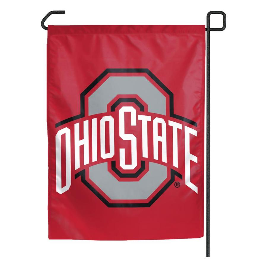 WinCraft Sports 1.25-ft W x 2.75-ft H Ohio State University Flag