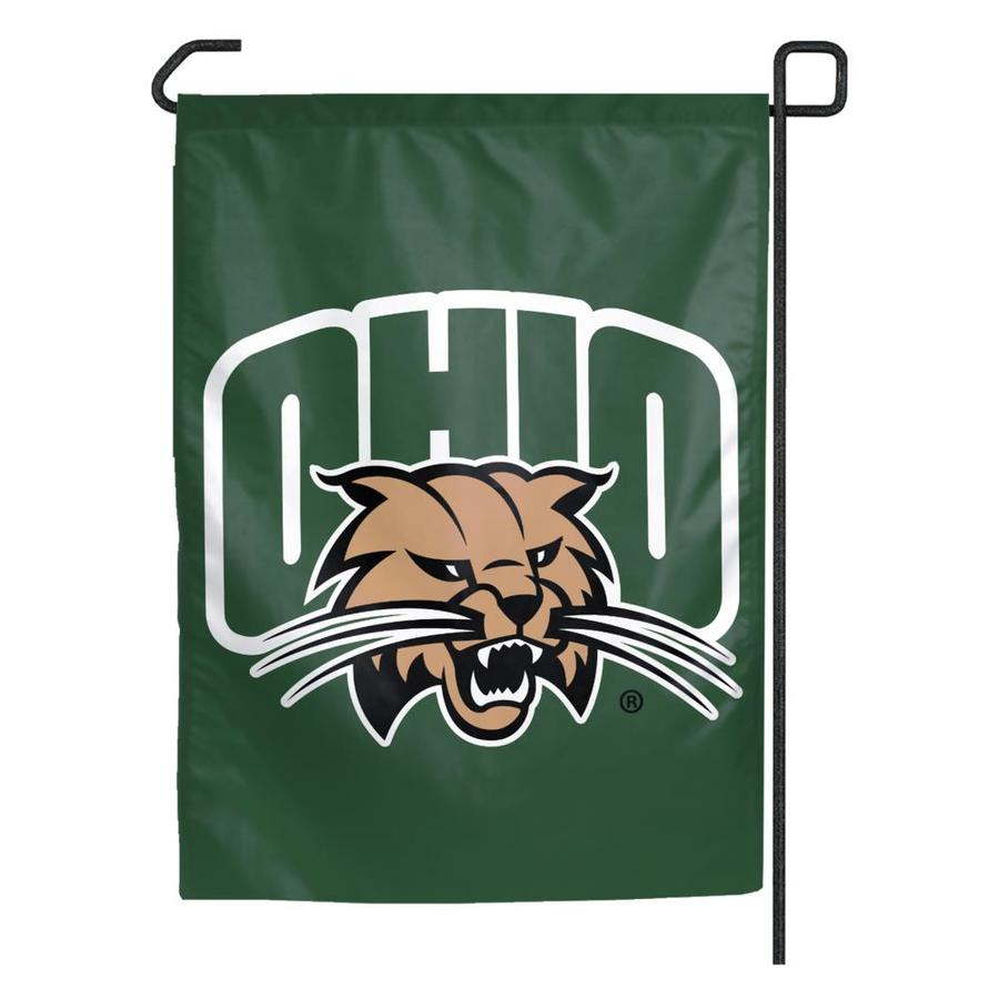 WinCraft Sports 1.25-ft W x 2.75-ft H Ohio University Flag
