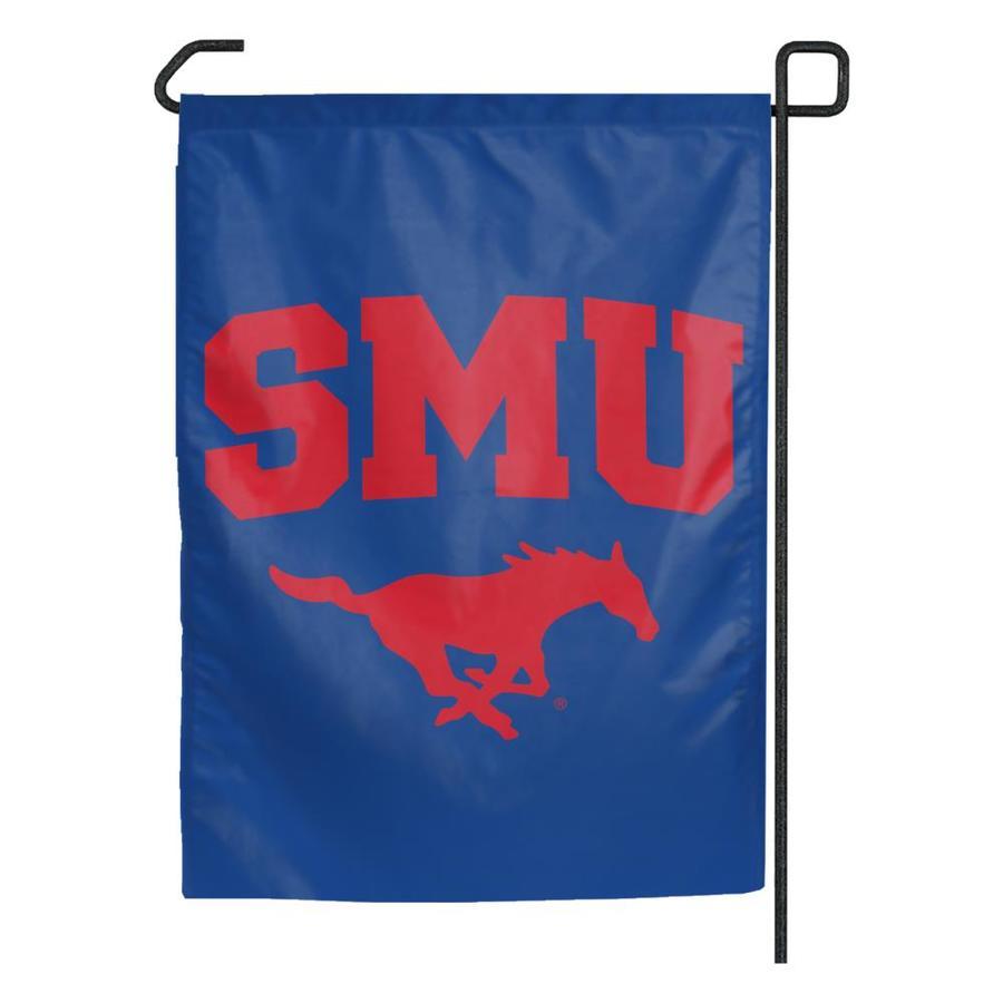 WinCraft Sports 1.25-ft W x 2.75-ft H Southern Methodist University Flag