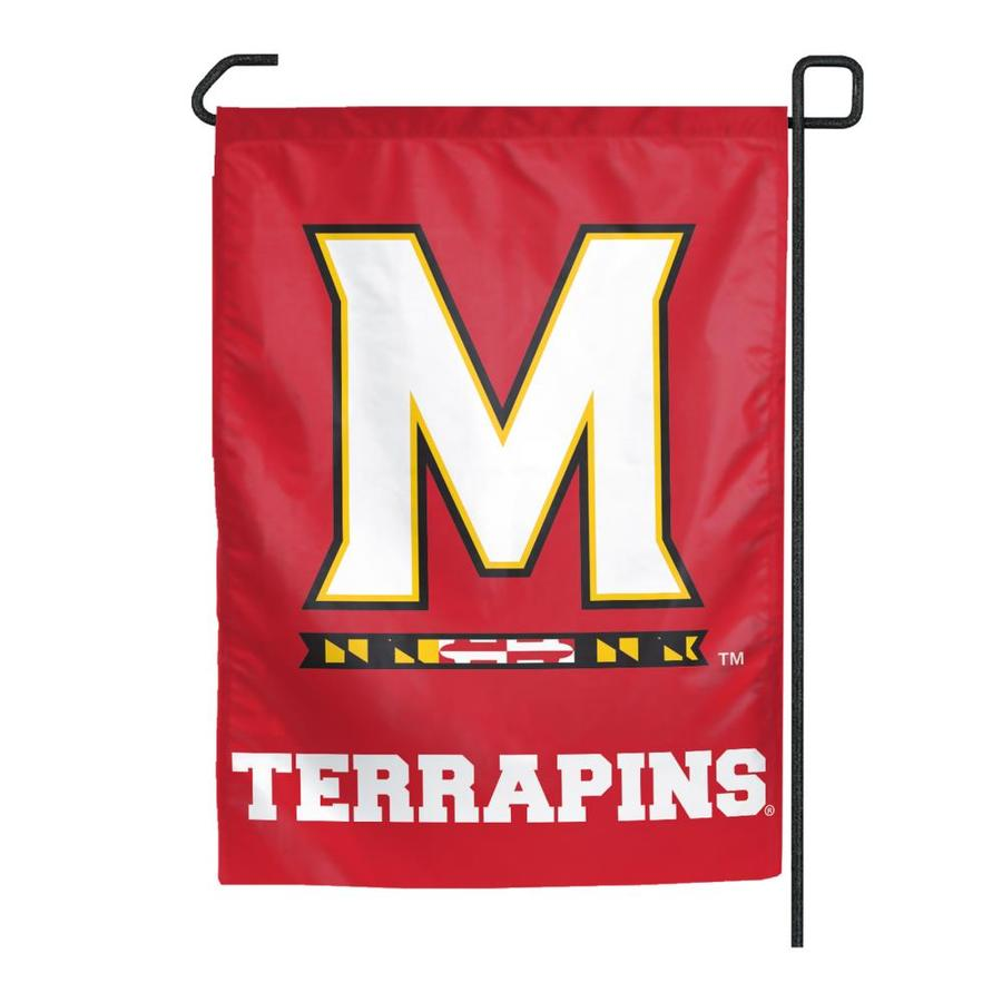 WinCraft Sports 1.25-ft W x 2.75-ft H University of Maryland Flag