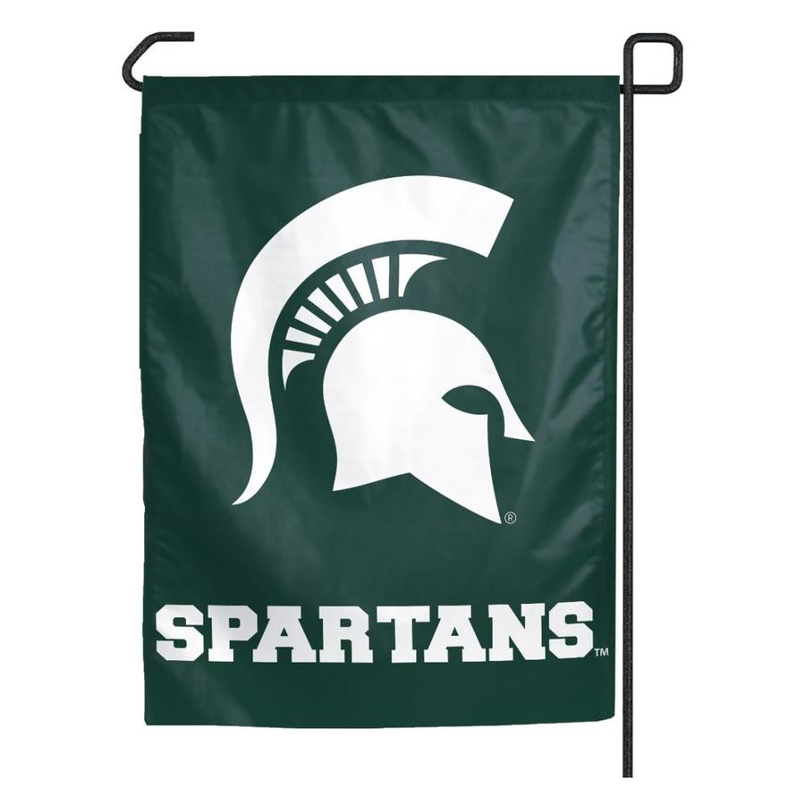 WinCraft Sports 1.25-ft W x 2.75-ft H Michigan State University Flag