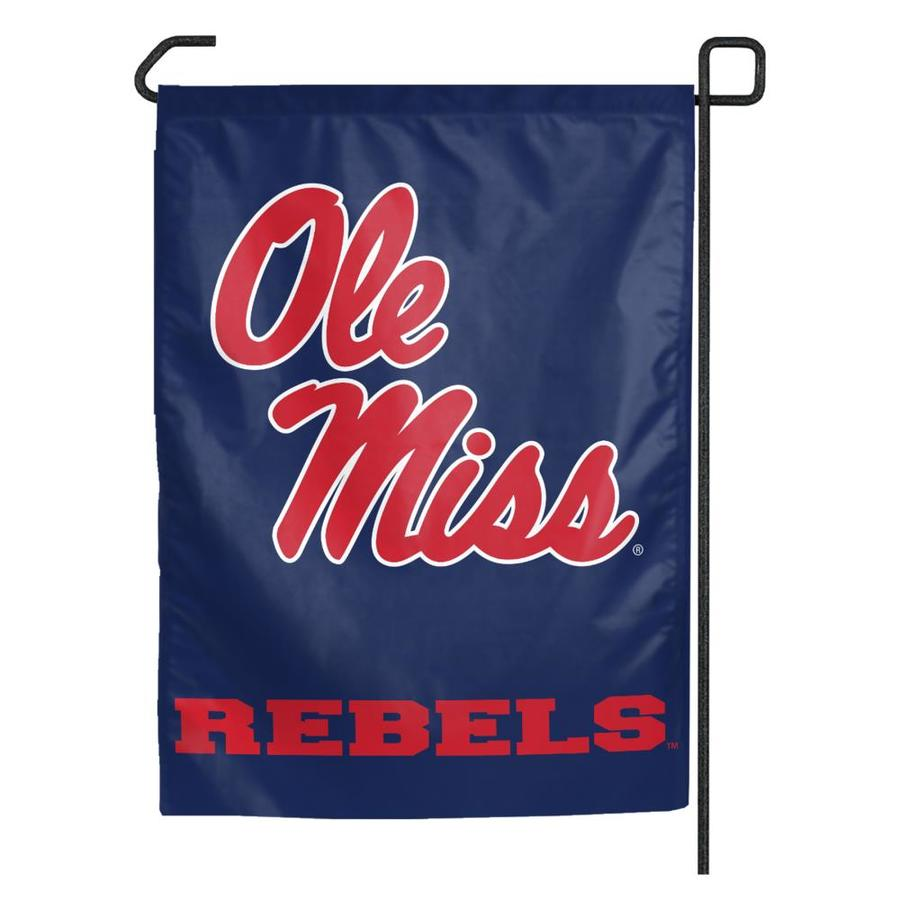 WinCraft Sports 1.25-ft W x 2.75-ft H University of Mississippi Flag