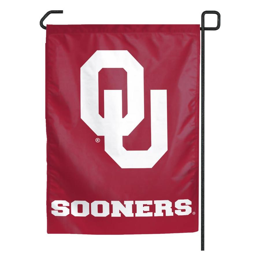 WinCraft Sports 1.25-ft W x 2.75-ft H University of Oklahoma Flag