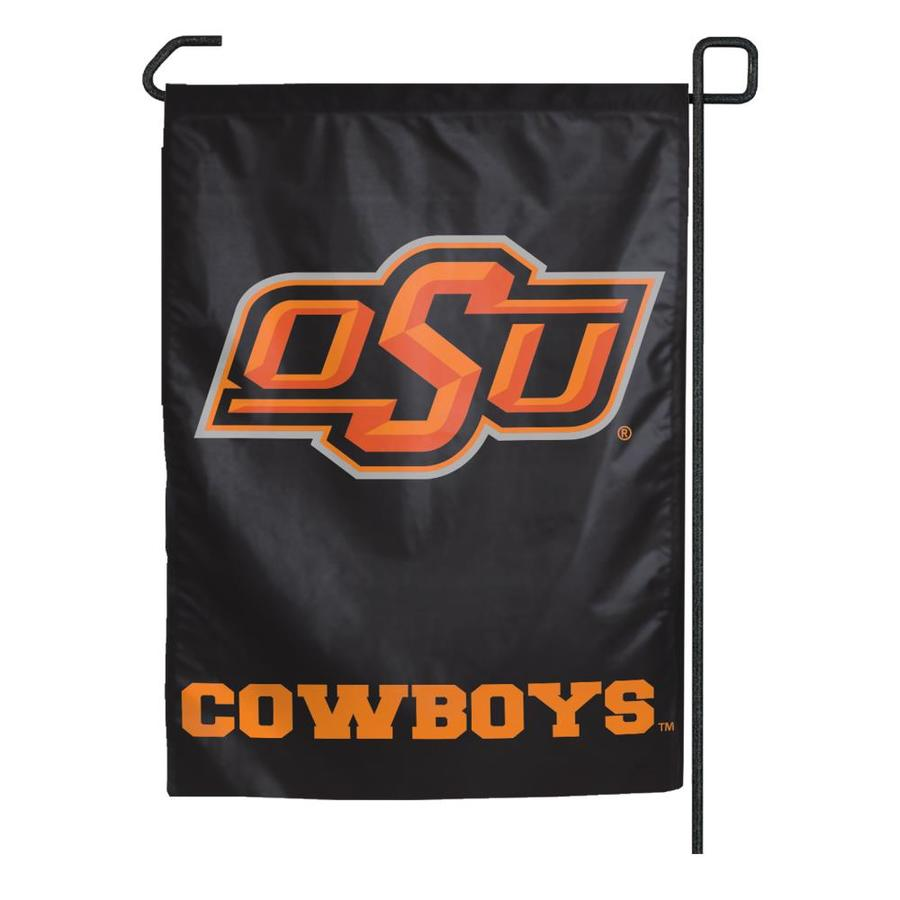 WinCraft Sports 1.25-ft W x 2.75-ft H Oklahoma State University Flag