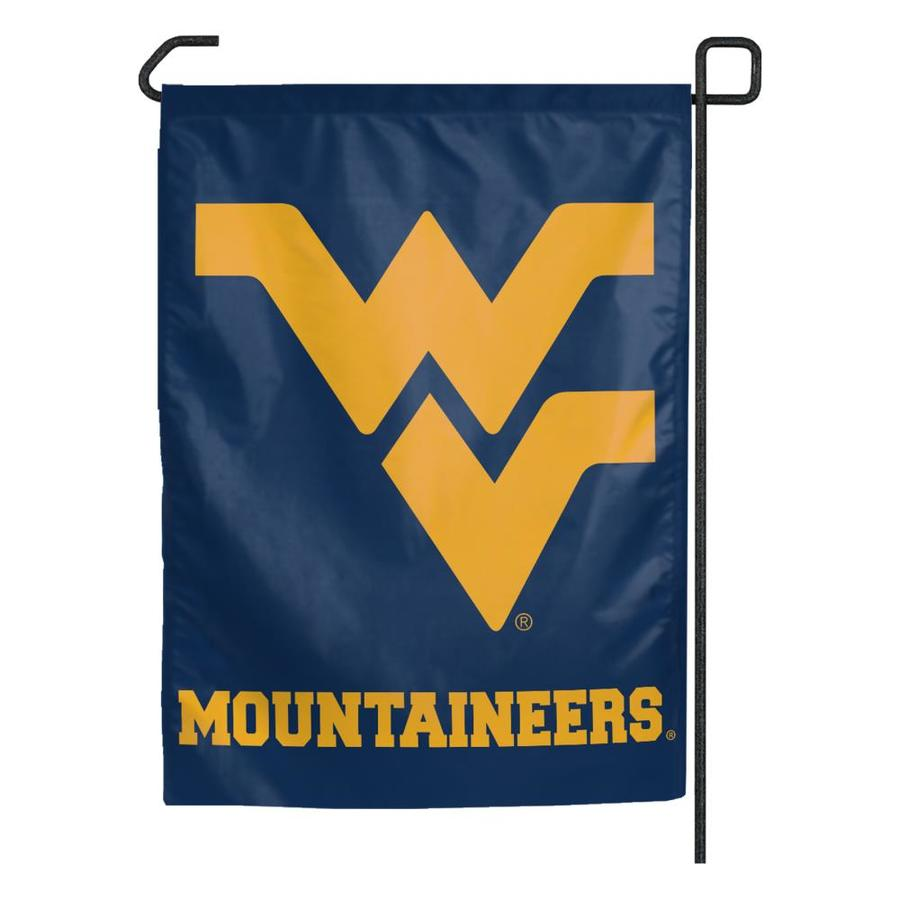 WinCraft Sports 1.25-ft W x 2.75-ft H West Virginia University Flag
