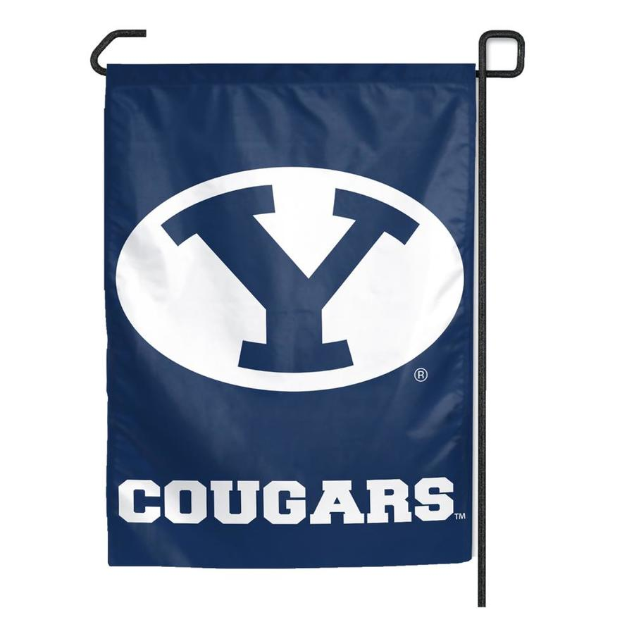 WinCraft Sports 1.25-ft W x 2.75-ft H Brigham Young University Flag