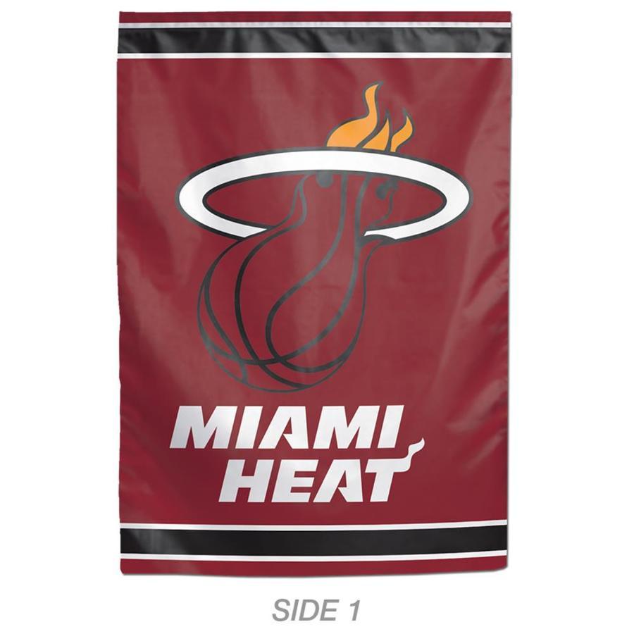 WinCraft Sports 1-ft W x 1.5-ft H Sports Miami Heat Garden Flag
