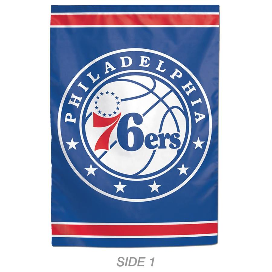 WinCraft Sports 1-ft W x 1.5-ft H Sports Philadelphia 76Ers Garden Flag