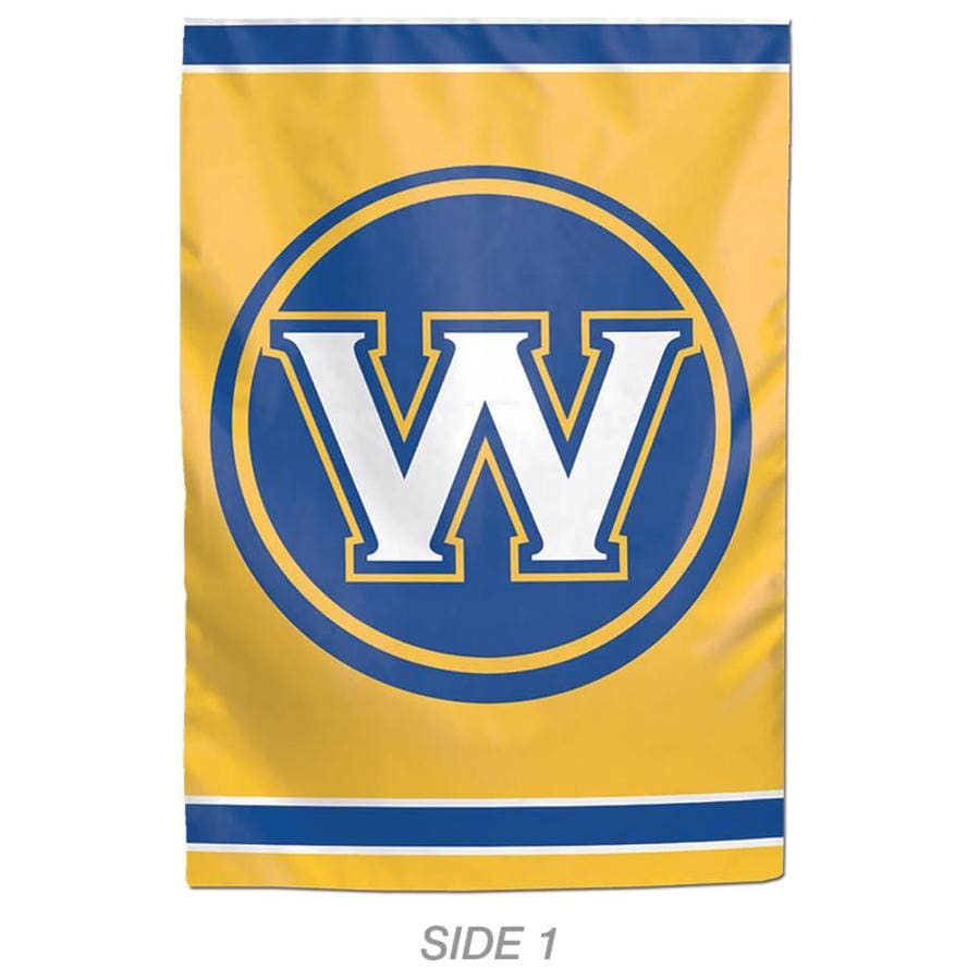 WinCraft Sports 1-ft W x 1.5-ft H Sports Golden State Warriors Garden Flag