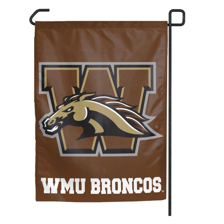 WinCraft Sports 1.25-ft W x 2.75-ft H Western Michigan Flag